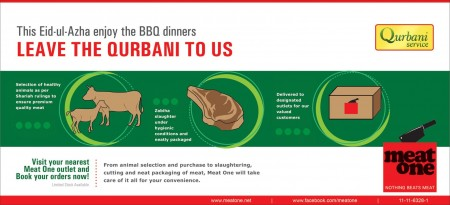 Meat One Qurbani Services Eid ul Adha 2011