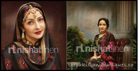 Nisha Latest Winter Collection 2011,12 by Nishat LinenPart 1
