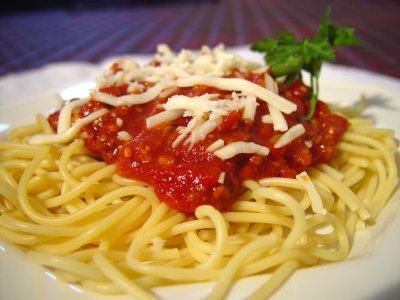 Making Spaghetti Sauce