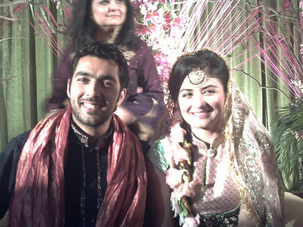 Tennis Ace Aisam ul Haq and Faha's Wedding Pictures