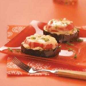 Grilled italian eggplant