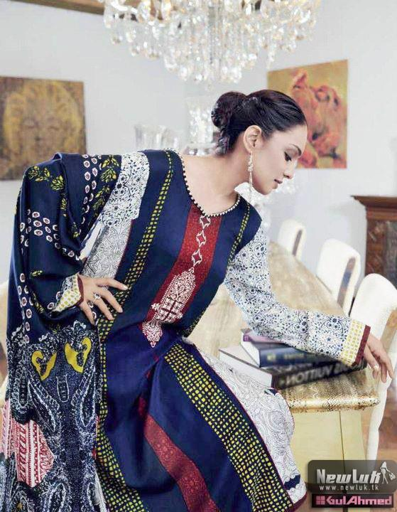 Gul Ahmed Winter Collection 2011