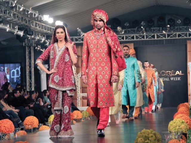 PFDC L'Oreal Paris Bridal Week Lahore 2011-2012 Day 2
