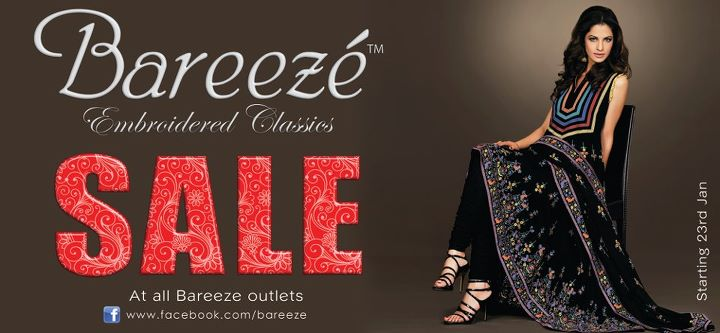 Bareeze Winter Sale 2012