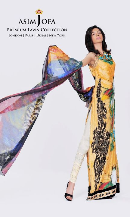 Asim Jofa Spring Summer 2012 Collection