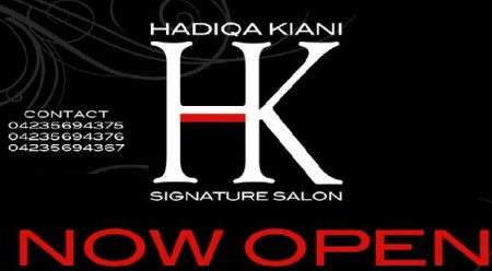 Hadiqa Kiani Signature Salon