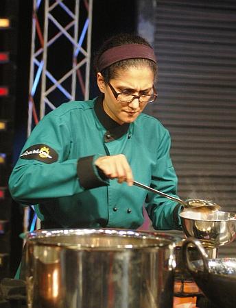 Poppy Agha in Foodistan