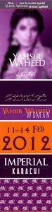 Yahsir Waheed Lawn SpringSummer 2012