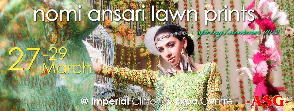 Nomi Ansari Lawn Prints 2012