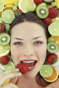 food for face beauty