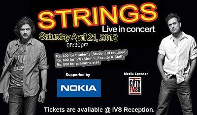 Strings - Live