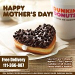 Mother's Day Deal by Dunkin Donuts in Karachi