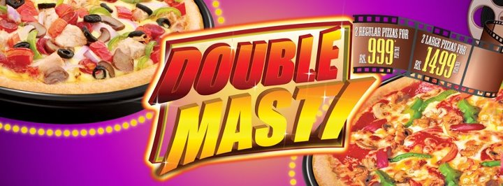 Pizza hut double masti deal 2012 summer