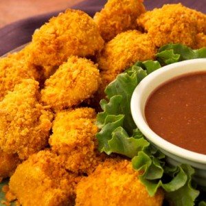Chicken nuggets for Iftar menu