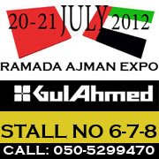 Gul Ahmed Ajman UAE Expo 2012