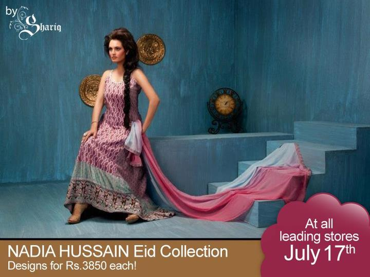 Nadia Hussain Eid Collection 2012