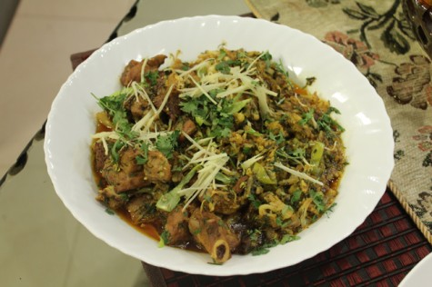 Gobhi Gosht – Mutton with Cauliflower