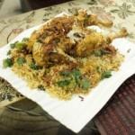 Lahori Chicken Chargha Biryani