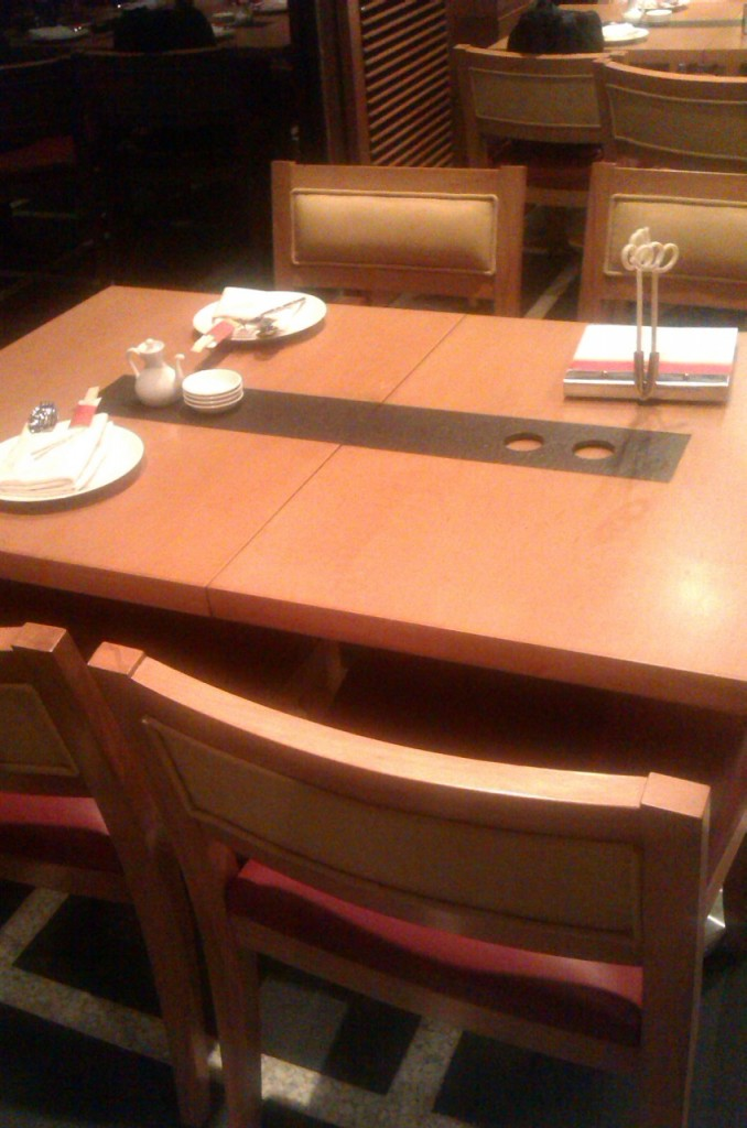 Seating arrangement at Noodle House karachi