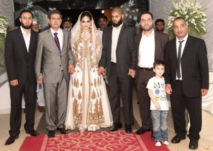 annie khalid pop singer wedding photo