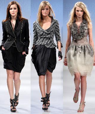 tulip skirt fall fashion