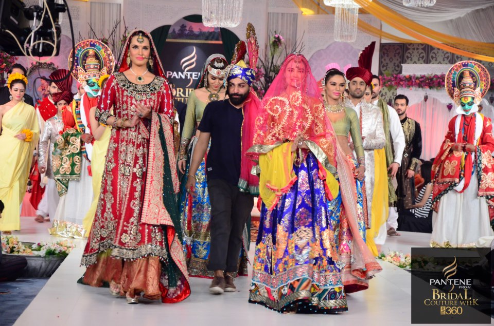 Ali Xeeshan delivered this stunning collection at PBCW