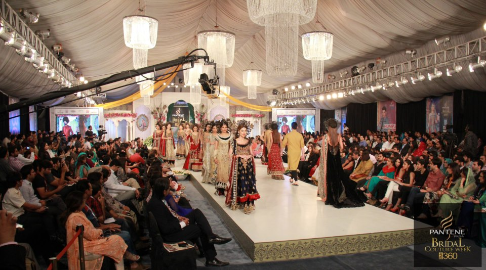 Ammar Shahid kicks off Day 2 of the Pantene Bridal Couture Week