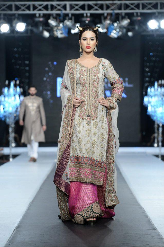 Fahad Hussayn PFDC LOreal Paris Bridal Week 2012