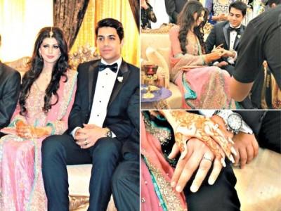 Goher Mumtaz of Jal band engagement