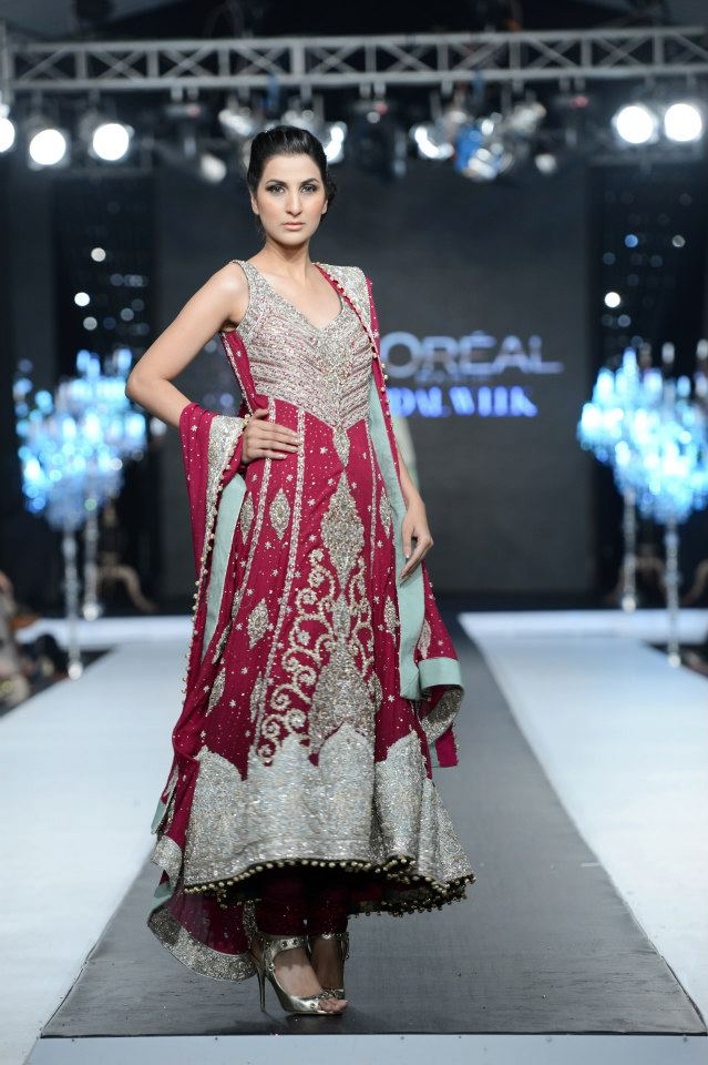 Layla Chatoor at Day 3 of PFDC L'Oreal Paris Bridal Week 2012 2