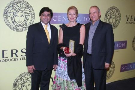 Mohsin Feroz ,Mr. & Mrs. Roberto Franceschinis (Italian Consul General)