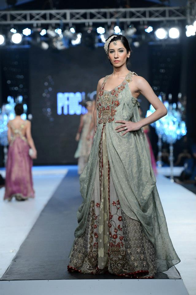 Nickie & Nina at Day 3 of the PFDC L'Oreal Paris Bridal Week 2012