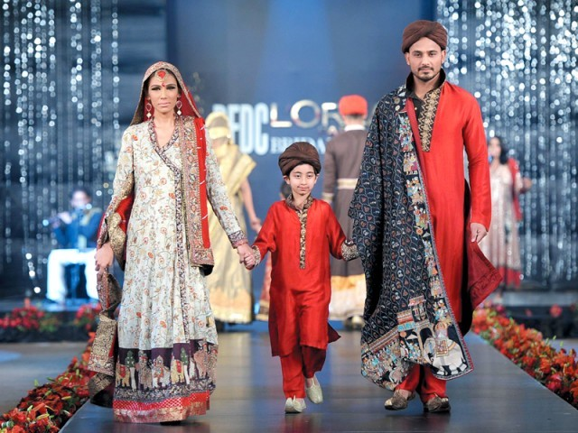 PFDC LOreal Paris Bridal Fashion week 2012 Lahore