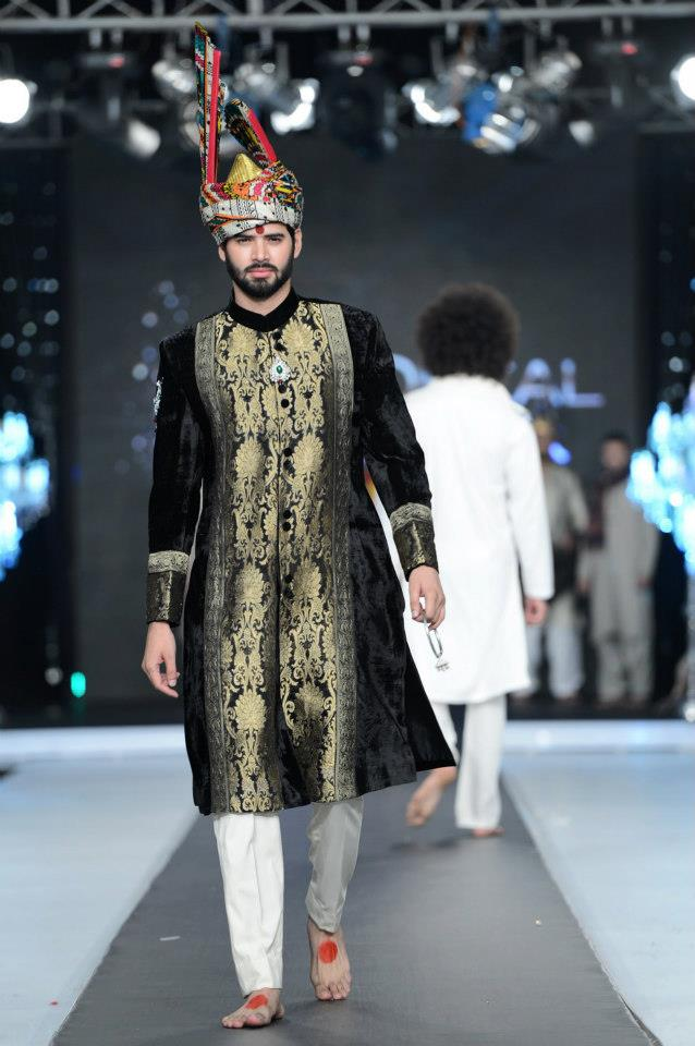 PFDC L'Oreal Paris Bridal Week 2012 Day 2 Ali Xeeshan