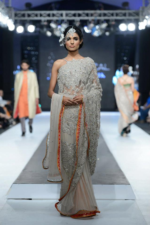 Teena By Hina Butt at PFDC Loreal Paris Bridal Week
