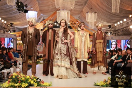 bridal collection by Kuki Concept at PBCW 2012