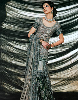 Latest Bridal Dress Designs 2012