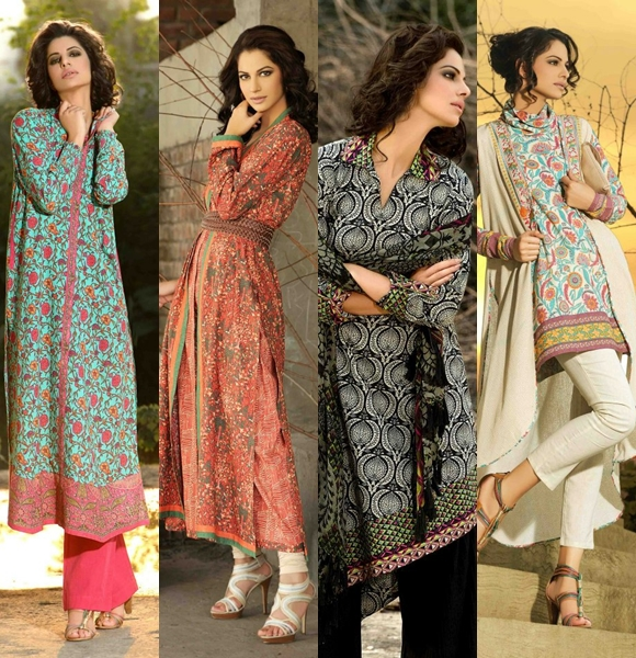 Khaadi Latest Winter Collection 2012- 2013 For Women