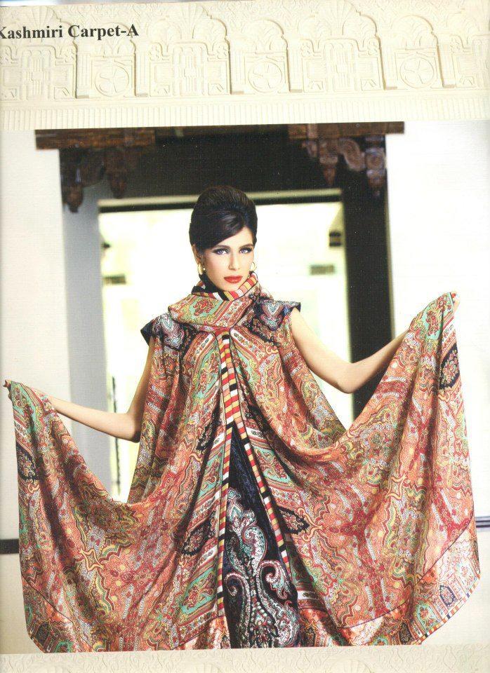 Pashmina Kashmiri Carpet lala winter collection 2012
