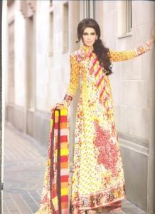 Pashmina Persian Paisley print by Lala winter collection 2012