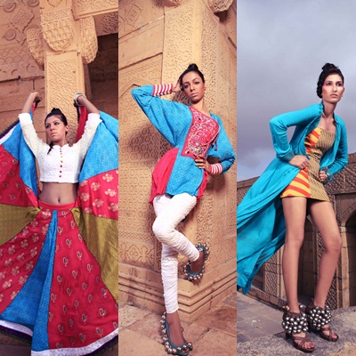 Veet Miss Super Model Contest 2012 Makli Photoshoot.