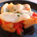Crockpot Pizza Potatoes