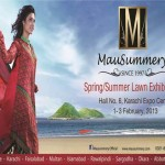 Mausummery Spring Summer Lawn 2013 Exhibition