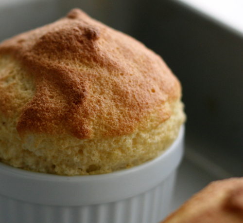 Classic Maple Syrup Souffle