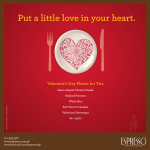 Espresso Valentine Day Platter 2013