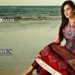Feminine Designer Embroidered Lawn Collection 2013 by Shariq Textiles