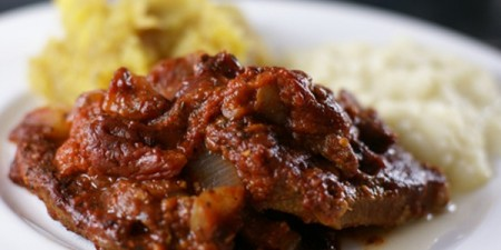 Crockpot Swiss steak