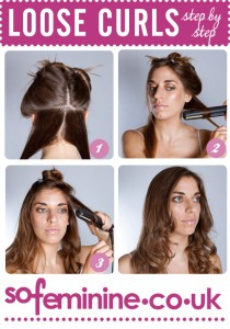 loose curls step by step guide