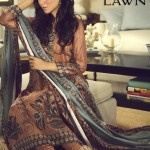 Nida Azwer Spring Summer Lawn Exhibition 2013