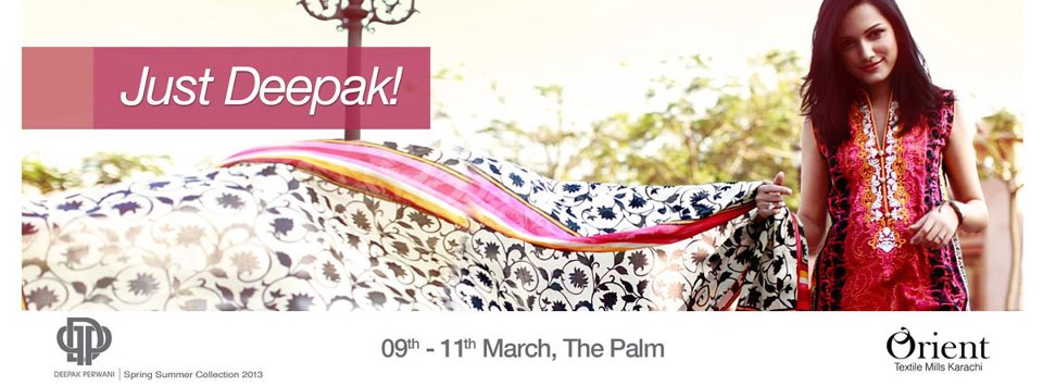 Orient presents Deepak Perwani Lawn Exhibition 2013